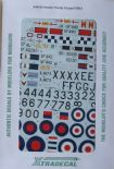 X48105 1/48 Hawker Hunter F.6 and FGA.9 (9) decals